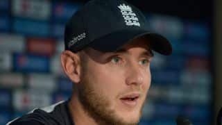 Stuart Broad fights with Saeed Ajmal on Twitter over the latter's bolwing action