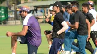 Kolkata Knight Riders begin their practice