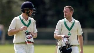William Porterfield to lead Ireland in historic four-day Test against England at Lord's in July
