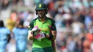 Cricket World Cup 2019 - Need to look at the areas we got it wrong and just move on: Faf du Plessis