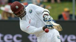 South Africa vs West Indies 2014-15: Marlon Samuels and Kraigg Brathwaite bring up 150-run stand for third wicket