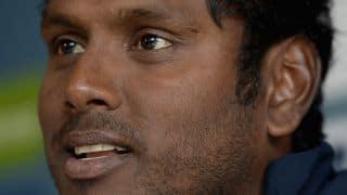 Angelo Mathews' pre-match press conference