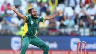 Imran Tahir heralded as No. 1 ODI bowler