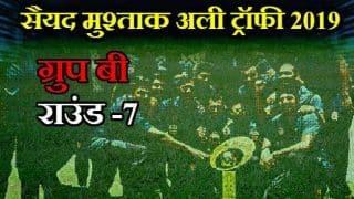 Syed Mustafa Ali Trophy, Group B:  Rajasthan beat Bihar by 19 runs