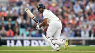 Lunch report: India dented after defiant Vihari-Jadeja stand
