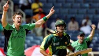 Ireland, Pakistan Test evokes 2007 World Cup memories