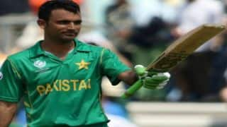Fakhar Zaman's dream debut on Lords yet to complete