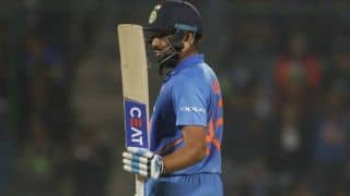 Rohit Sharma becomes 8th Indian batsman to complete 8000 runs in ODI