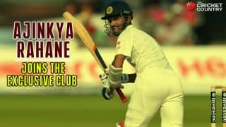 Ajinkya Rahane and others who scored century in maiden Test innings at Lord's