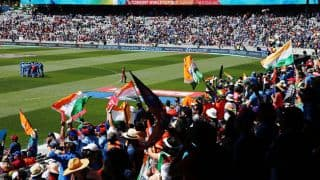 India vs Zimbabwe, ICC Cricket World Cup 2015: Pool B, Match 39 at Auckland