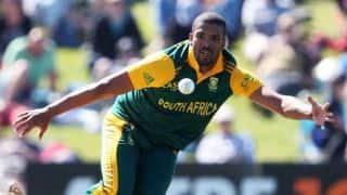 South Africa vs West Indies 2014-15, 2nd ODI at Johannesburg: Leon Johnson dismissed by Vernon Philander