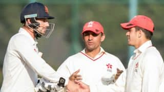ICC Intercontinental Cup: NED secure unlikely draw against HK