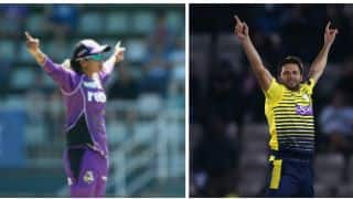 Veda does a Shahid Afridi celebration, Afridi responds
