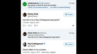 Paul Collingwood trolls a mocker