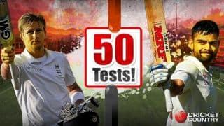 50वें टेस्ट में जोए रूट पर भारी पड़े विराट कोहली