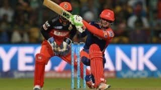 Quinton de Kock's ton takes DD to a 7-wicket win against RCB