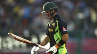 Maxwell learns 'perform or perish' lesson the hard way