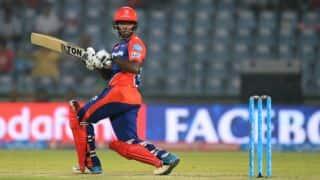 IPL 2017: Delhi Daredevils set target of 206 runs for Pune Supergiant