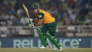 India vs South Africa 2nd semi-final ICC World T20 2014: Faf du Plessis dismissed by Ravichandran Ashwin