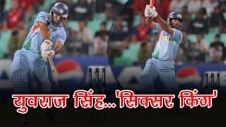 19 सितंबर- युवराज सिंह ने आज ही के दिन लगाए थे 6 गेंद में 6 छक्के