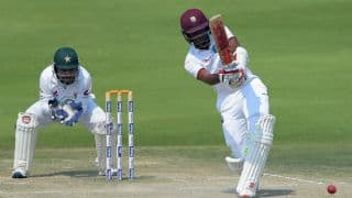 PAK vs WI, 2nd Test, Day 4, Tea Report: Brathwaite's fifty keeping contest alive