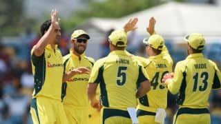 Maxwell happy with Starc, Hazlewood leading AUS's bowling attack