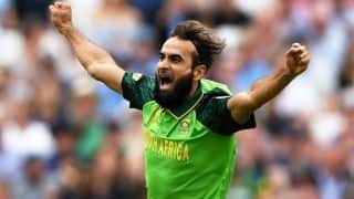 Imran Tahir becomes second specialist spinner after Nicky Boje to play 100 odi for south africa