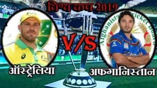 Australia win by 7 wicket against Afghanistan, Cricket World Cup 2019, LIVE streaming: Teams, time in IST and where to watch on TV and online in India