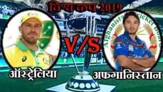 Live cricket score, AFG vs AUS: कब और कहां देखें ऑस्ट्रेलिया-अफगानिस्तान मुकाबला