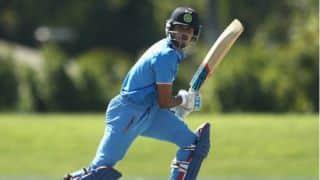 Shreyas Iyer scores maiden ODI fifty, against Sri Lanka in 3rd ODI at Mohali