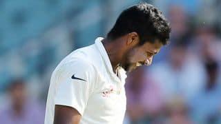 India vs Australia, 2nd Test at Brisbane, Day 3: Brad Haddin dismissed