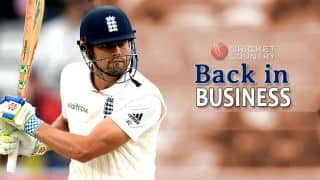 Alastair Cook finds his lost mojo