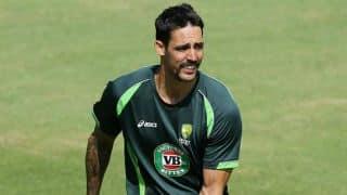 Mitchell Johnson set to return for Australia tri-series final against England