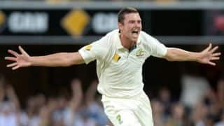 Australia fast bowler Josh Hazlewood on track for international return, targets India series