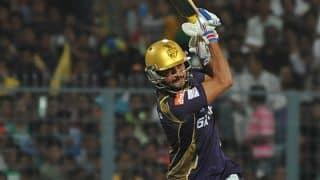 Kolkata Knight Riders steer on despite 2 early dismissals against Rajasthan Royals in IPL 2015