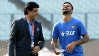 Sourav Ganguly: I see a lot of honesty in Virat Kohli