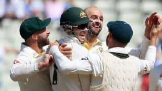 Ashes 2019: England in trouble as Nathan Lyon spins Edgbaston Test in Australia's favour