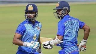 Vijay Hazare Trophy 2019-20, Round 4 Group Elite A: Chhattisgarh beat defending champions Mumbai by five wickets