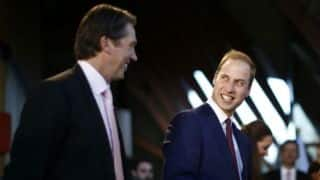 Glenn McGrath couldn't resist having a dig at Prince William over Australia's Ashes win
