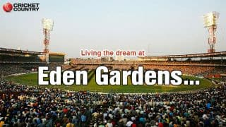 When I visited the Eden Gardens for the first time