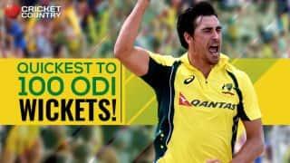 Mitchell Starc quickest to 100 ODI wickets, breaks Saqlain Mushtaq's record