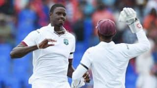 Jason Holder replaces Denesh Ramdin as West Indies' Test skipper ahead of Sri Lanka tour