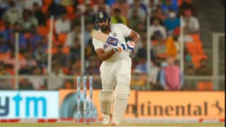 India vs England, 3rd Test: Rohit Sharma's fifty lead IND to 99/3;  India trail by 13 runs on stumps at Day 1