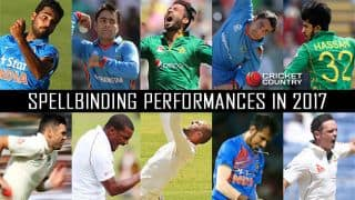 Year-ender 2017: Top 10 bowling spells