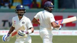 India vs England: Virat Kohli finds support in Rohit Sharma