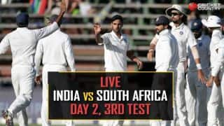 Highlights, India vs South Africa, 3rd Test, Day 2 at Johannesburg: India extend lead to 42