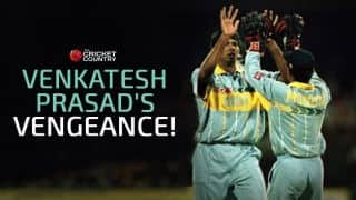 India vs Pakistan, Cricket World Cup, Part 2 of 5: Venkatesh Prasad's 1996 revenge