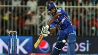 Ajinkya Rahane, Sanju Samson dismissed in Royal Challengers Bangalore vs Rajasthan Royals match 14, IPL 2014
