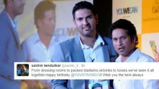 Sachin Tendulkar's trip down memory lane, Gautam Gambhir's rebirth tweet and other wishes on Yuvraj Singh's birthday