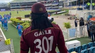 India vs West Indies: Team India tribute Chris Gayle after his last International match inningk